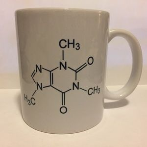 Coffee Cup Caffeine chemical structure